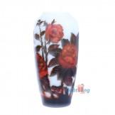 Bình gale hoa hồng