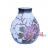 Bình gale hoa cúc tím